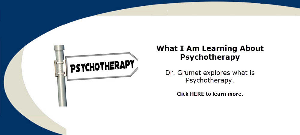 What is Psychotherapy? Treatment or therapy by a trained licensed therapist aimed at changing or stabilizing psychiatric or psychological symptoms and behaviors