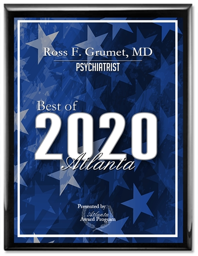Ross F. Grumet, MD Receives 2020 Best of Atlanta Award